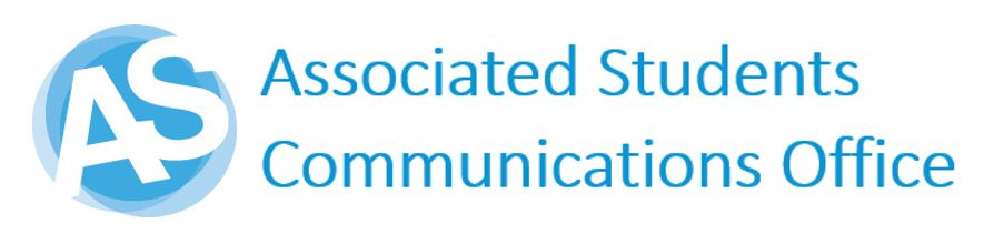 Associatesd Students Logo, text reads Associated Students Communications Office