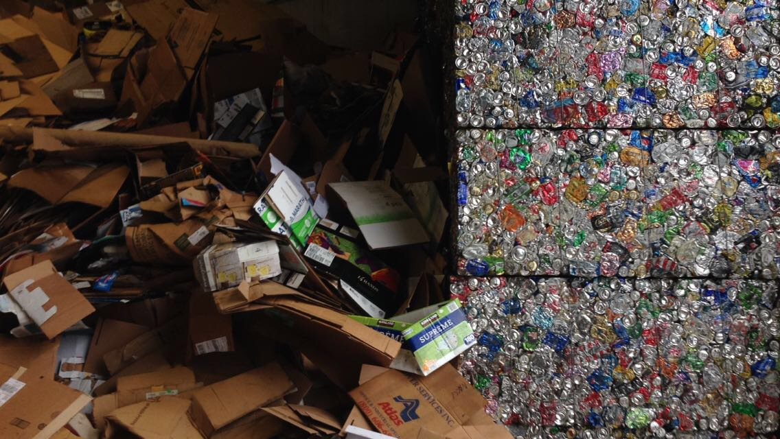 The NW recycling center